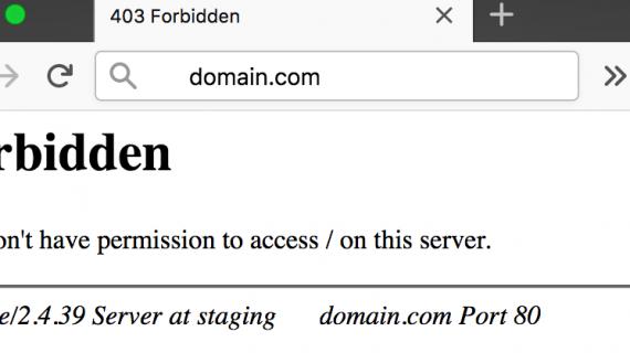 HTTP 403 Forbidden