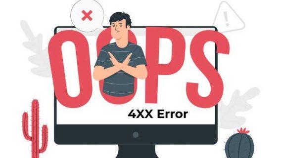 What is a 4XX Error