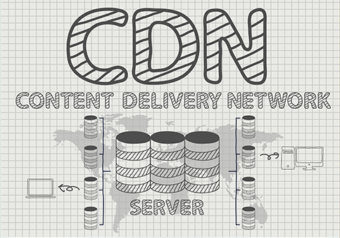 What CDN is a Site Using